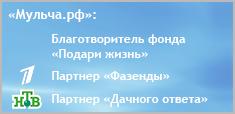 «Мульча.рф» - благотворитель фонда Дины Корзун и Чулпан Хаматовой «Подари Жизнь» и Партнер Первого канала