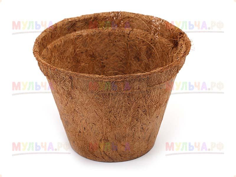 Коколэнд/ COCOLAND Горшки из кокосового волокна, D8 см, шт