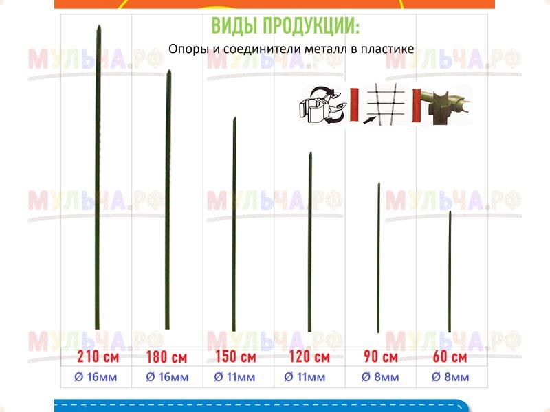 Соединители пластиковые для опор 16/16 мм, 10 шт/уп